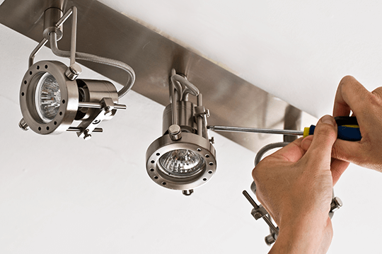 lighting installation handyman services