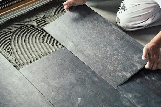 Tile Floor Installation Handyman