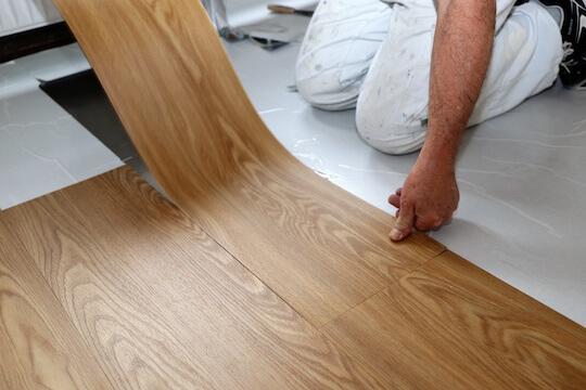 Vinyl Flooring Installation Handyman